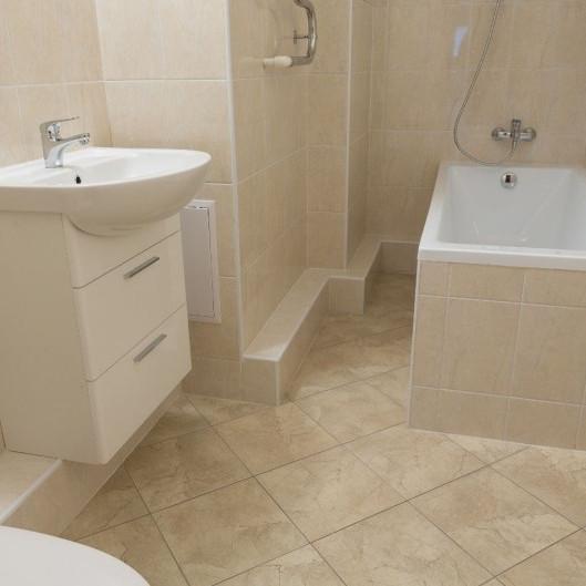 ЖК Mistola Hills отделка ванной комнаты